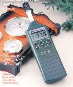 TES1360A温湿度计